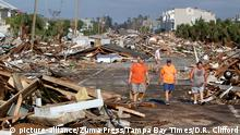 USA Zerstörung durch Hurrikan Michael Mexico Beach, Florida