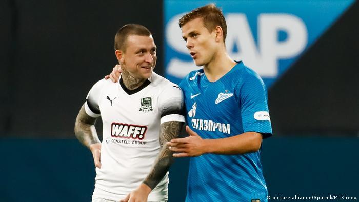 Футболисты Павел Мамаев и Александр Кокорин (фото из архива)