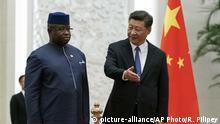 China Präsident Xi Jinping und Julius Maada Bio Sierra Leone