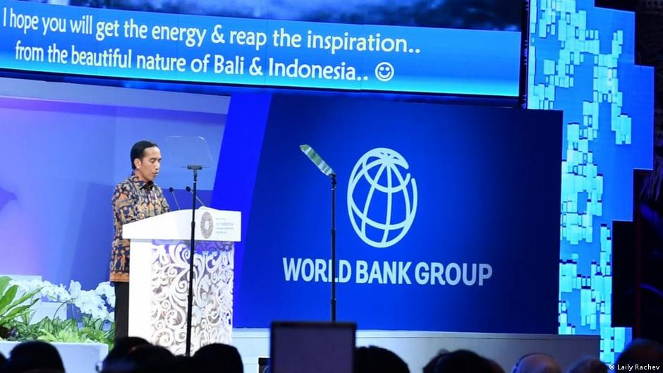Indonesischer Präsident Joko Widodo in IMF-World Bank Yearly Meeting 2018 in Bali