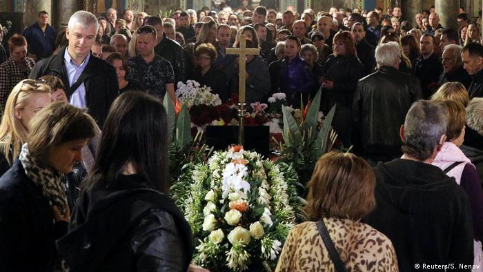Bulgarien Viktoria Marinowa Begräbnis in Ruse (Reuters/S. Nenov)