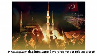 Ausschnitt aus türkischem Schulbuch (Karşılaştırmalı Eğitim Derneği/Vergleichender Bildungsverein)