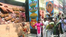 Indien Hindu-Festival Durga Puja