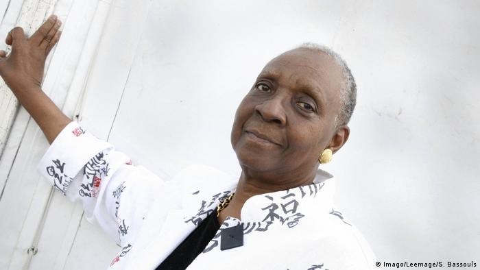 Escritora Maryse Condé, vencedora do Nobel alternativo de literatura