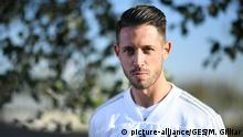 Mark Uth Fussball/ DFB-Training Berlin