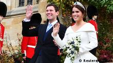 Großbritannien Royal Wedding Prinzessin Eugenie & Jack Brooksbank in Windsor