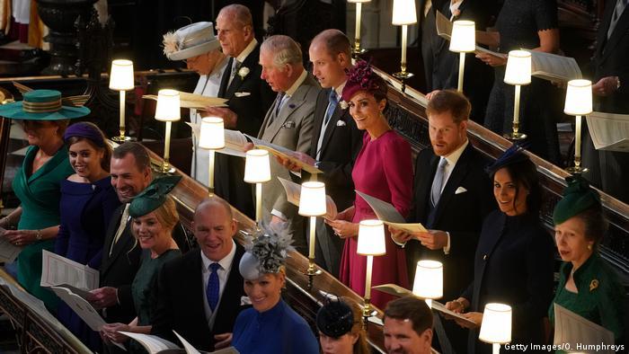 Großbritannien Royal Wedding Prinzessin Eugenie & Jack Brooksbank in Windsor
