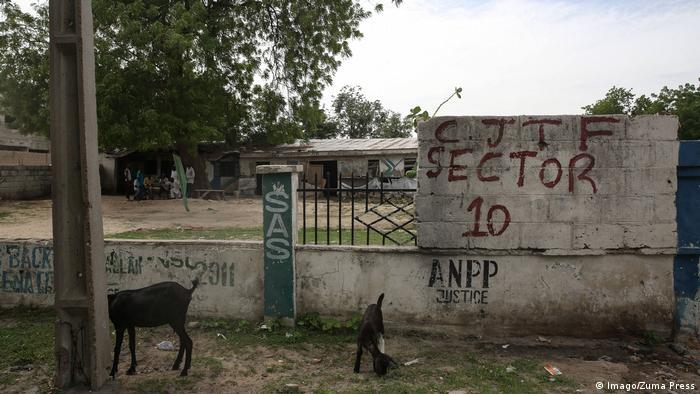 CJTF headquarters in Maiduguri