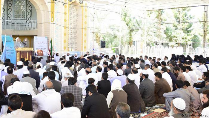 عبدالحمید مردم بلوچ را به آرامش دعوت کرد