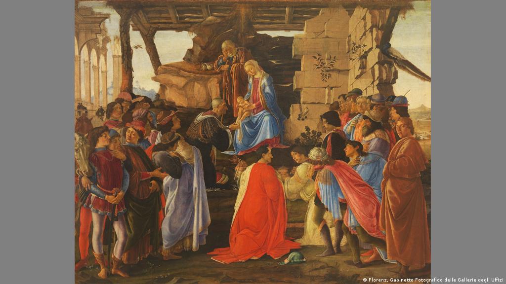 Buckeburg Schlosskapelle Bevor Die Malerei Von Der Decke Fallt