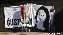 Malta Gedenken an Daphne Caruana Galizia, ermordete Journalistin