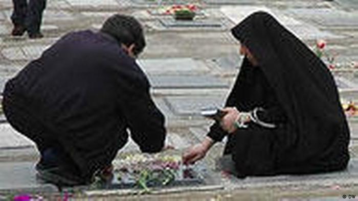 Iran Teheraner Friedhof