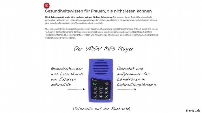 Screenshot Uridu MP3-Player