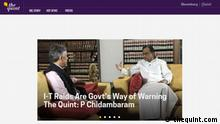 Screenshot - www.thequint.com