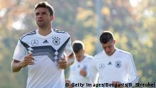 Deutschland Training Fußball Nationalmannschaft in Berlin | Thomas Müller