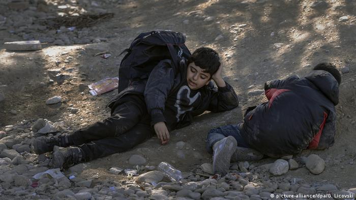 Mazedonien Balkanroute Minderjährige Flüchtlinge