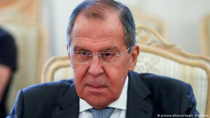 Sergei Lawrow Außenminister Russland