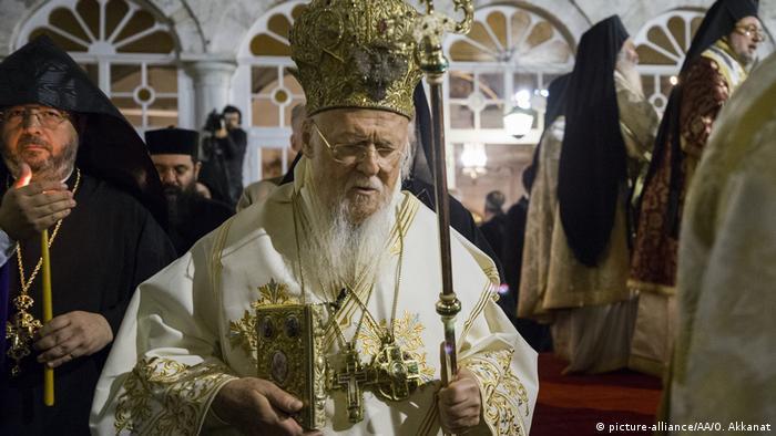 Патриарх Константинопольский Варфоломей, апрель 2018 г.