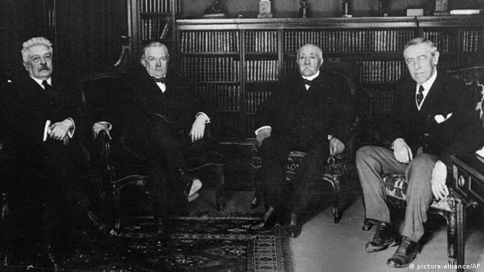 Paris 1919 Allierte Friedensverhandlungen
