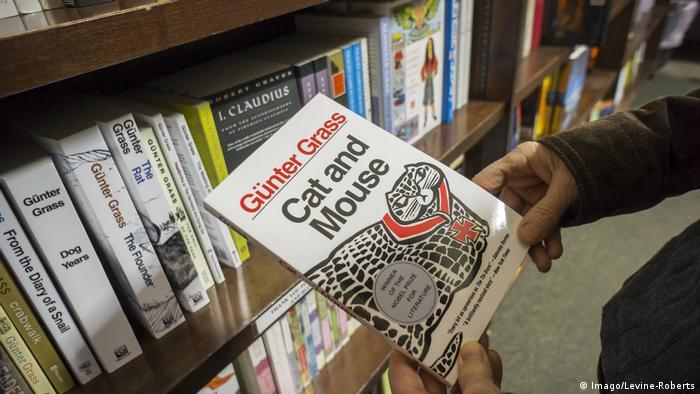 USA Cat and Mouse von Günther Grass in Buchhandlung von New York