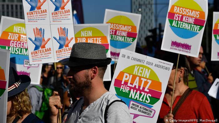 Berlin Unteilbar-Demonstration (Getty Images/AFP/J. MacDougall)
