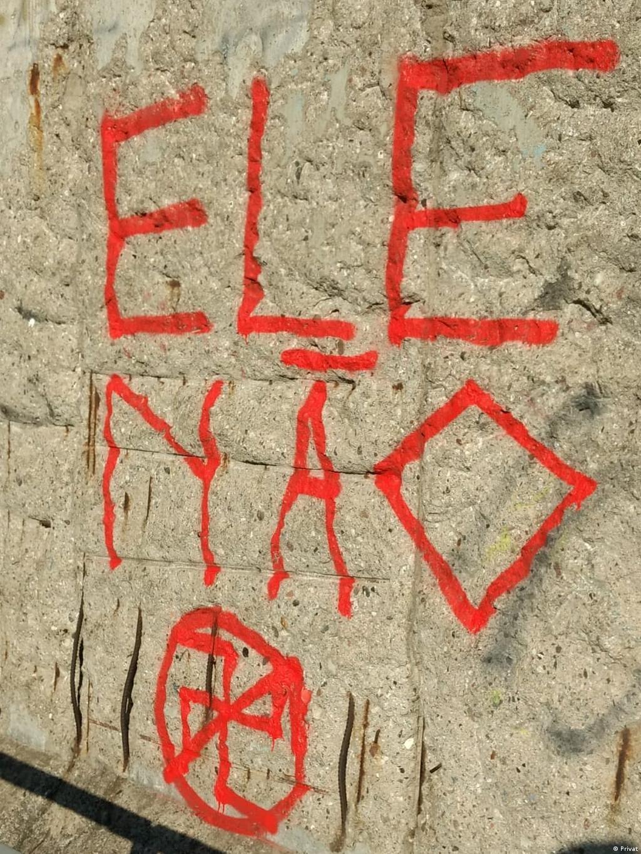 Muro De Berlim Tem Pichacao Ele Nao Removida Eleicoes 2018