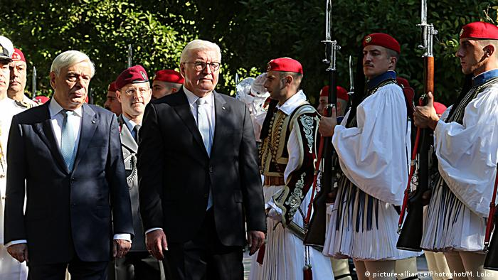Bundespräsident Steinmeier in Griechenland (picture-alliance/Photoshot/M. Lolos)