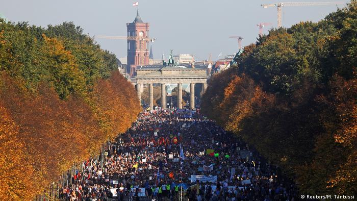 Berlin Unteilbar-Demonstration