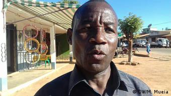 Mosambik Maputo - Leiter des MDM im Alto Molócuè (DW/M. Mueia)