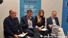 Frankfurt am Main Datum 13 Oktober 2018 Aktion zur Freilassung von ukr. Politgefangenen Oleg Sentsow in Frankfurt Autor Anita Winkelmeier