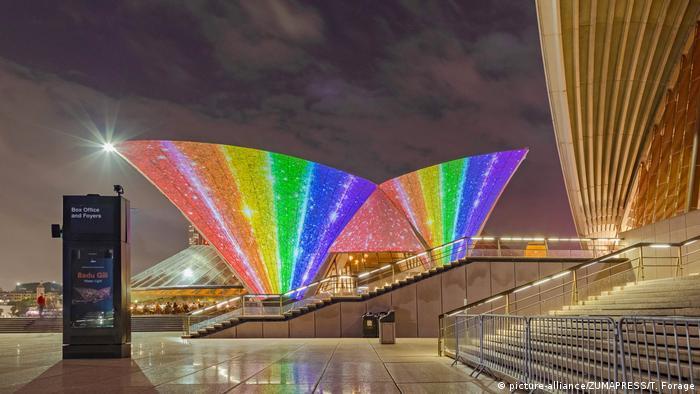 Australien Symbolbild LGBT (picture-alliance/ZUMAPRESS/T. Forage)