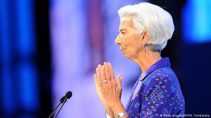 Christine Lagarde auf Bali (Getty Images/AFP/S. Tumbelaka)