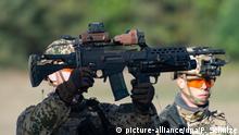Almanya'nın en büyük silah üreticilerinden Heckler & Koch yapımı, G36 piyade tüfeği