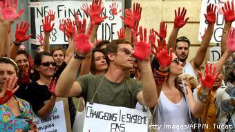 Στιγμιότυπο από παλαιότερη διαδήλωση για το κλίμα στο Παρίσι