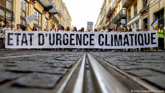 Frankreich | Protestmarsch gegen Klimawandel in Paris