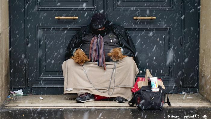 Homeless in Paris (Getty Images/AFP/G. Julien)