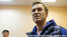 Russland Freilassung von Alexej Nawalny