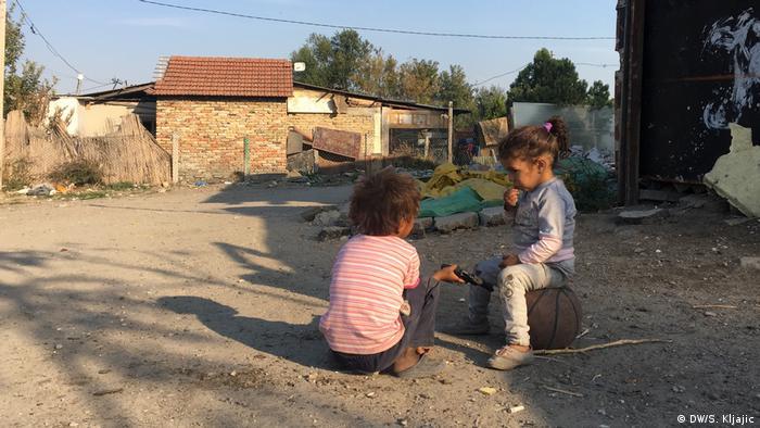 Serbien Roma-Siedlung (DW/S. Kljajic)