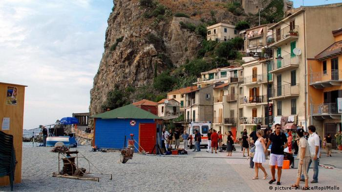 The town of Riace in Calabria