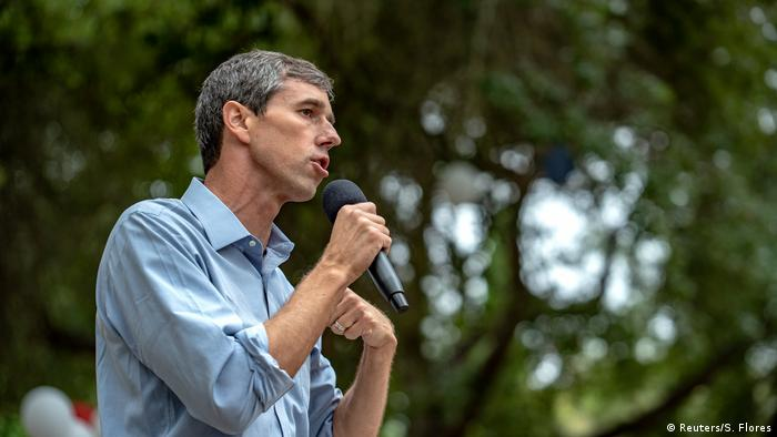 Texas US-Demokraten Kandidat Beto O'Rourke (Reuters/S. Flores)