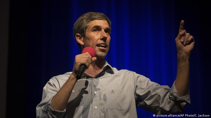 Texas US-Demokraten Kandidat Beto O'Rourke (picture-alliance/AP Photo/C. Jackson)