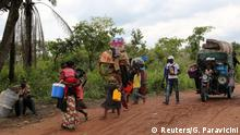 Kongo Kamako aus Angola abgeschobene illegale Flüchtlinge
