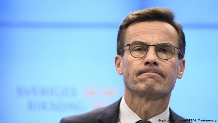 Schweden Konservative Partei-Chef Ulf Kristersson (picture-alliance/DPR/H. Montgomery)
