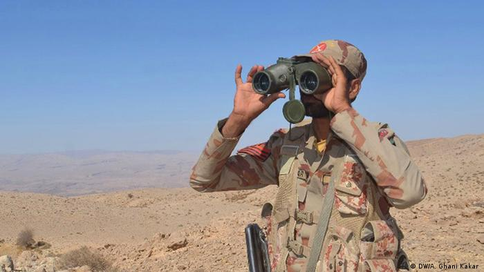 Pakistani soldier in Quetta, Baluchistan