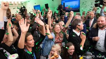 Los Verdes festejan un resultado histórico.