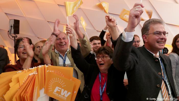 Landtagswahl in Bayern Freie Wähler