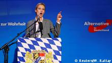 Landtagswahl in Bayern | Reaktion Alice Weidel AfD (Reuters/W. Rattay)