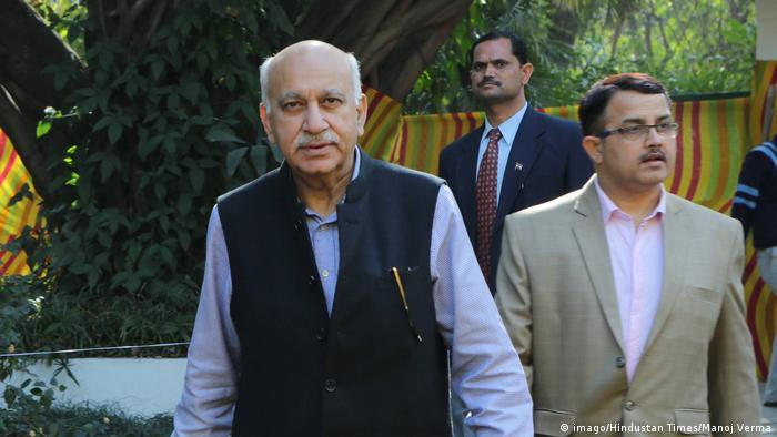 Indien MJ Akbar (imago/Hindustan Times/Manoj Verma)