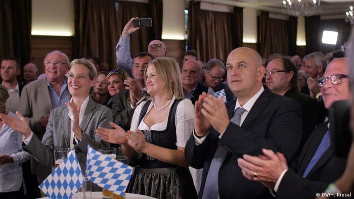 Bayern Landtagswahl 2018 | AfD Wahlparty (DW/H. Kiesel)