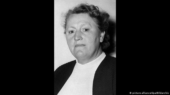 Elisabeth Selbert, SPD-Politikerin (picture-alliance/dpa/Bildarchiv)